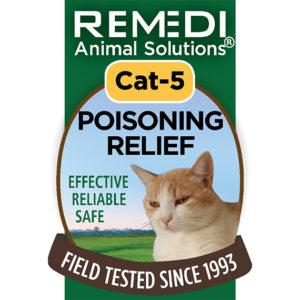 Poisoning Relief Cat Spritz