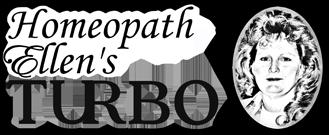 Homeopath Ellen's Turbo Logo